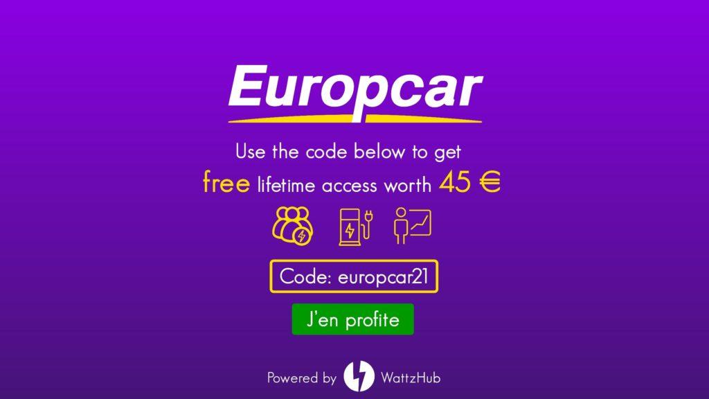 Europcar véhicule électrique